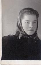 Stasia Chobian Iwie 1948, jeszcze przed aresztem