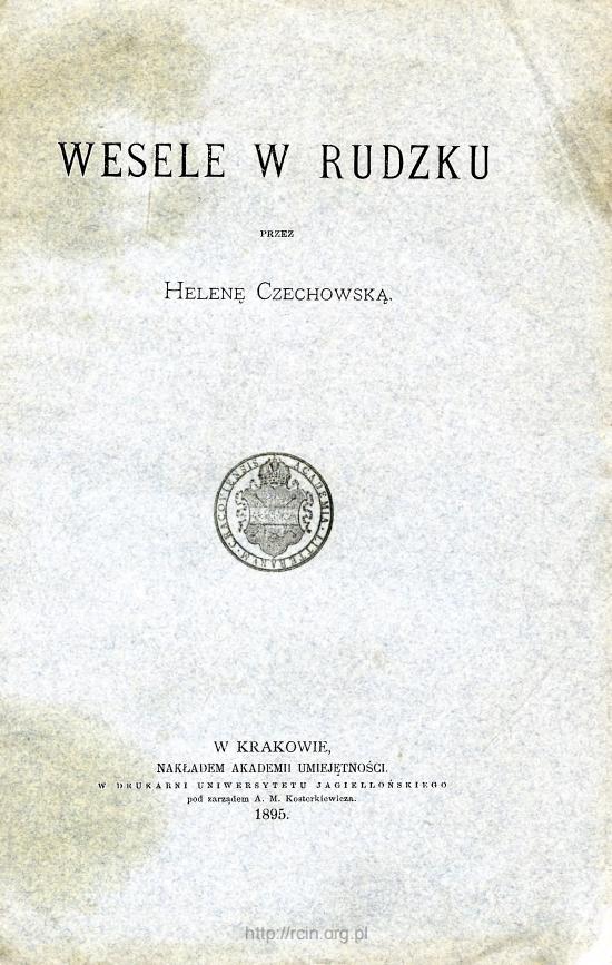 """Helena Czechowska – """"Wesele w Rudzku"""""""