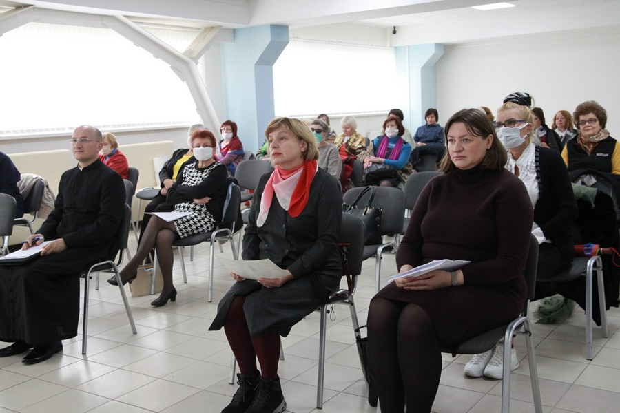 """""""Św. Jan Paweł II. Człowiek, który zmienił świat"""" – konferencja w Brześciu"""